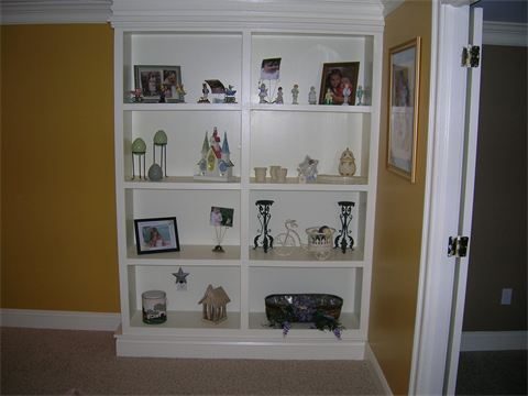 Basement Remodel  Built In Cabinetry