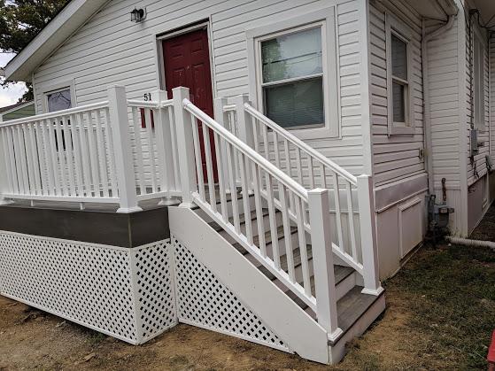 Front steps - After